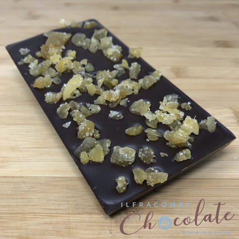 Deluxe Dark Chocolate and Crystalised Ginger
