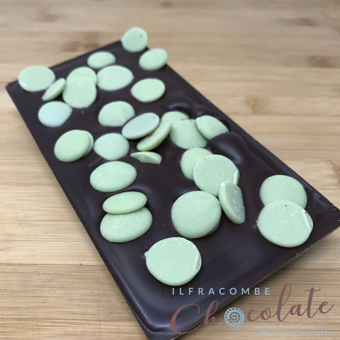 Deluxe Dark Chocolate Bar with Lemon/Lime Drops