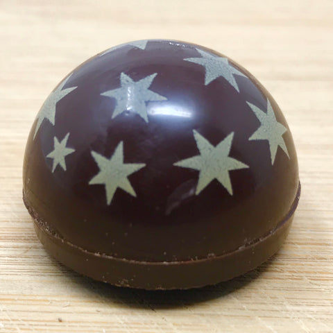 Handmade Dark Chocolate with Marmalade... yes marmalade!