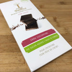 Reduced sugars Dark Chocolate with Cocoa Nibs by Balance