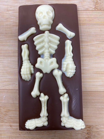Skeleton Milk Chocolate Bar