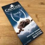 Reduced sugars/Sugar Free Dark Chocolate by Cavalier