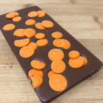 Deluxe Milk Chocolate with Orange flavoured Chocolate Drops