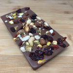 Deluxe Milk Chocolate Fruit & Nut Bar
