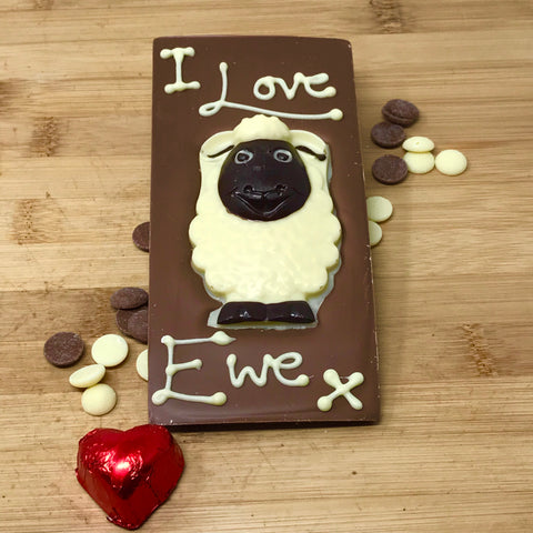 I Love Ewe Milk Chocolate Bar