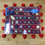 Chocolate Box with 48 Handmade Chocolates - Extra Large Size