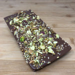 Deluxe Milk Chocolate with Pistachio Nuts