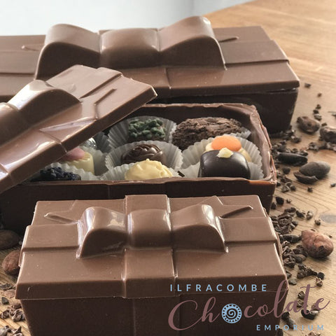 """Chocolate"" Chocolate Box Medium Size"