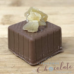 Handmade Milk Chocolate with Crystalised Ginger