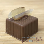 Handmade Milk chocolate with lemon fondant
