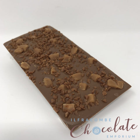Deluxe Milk Chocolate with Salted Caramel & Salted Caramel Fudge Bar