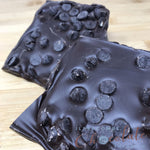 Dark Chocolate Slab with added 70% dark chocolate drops
