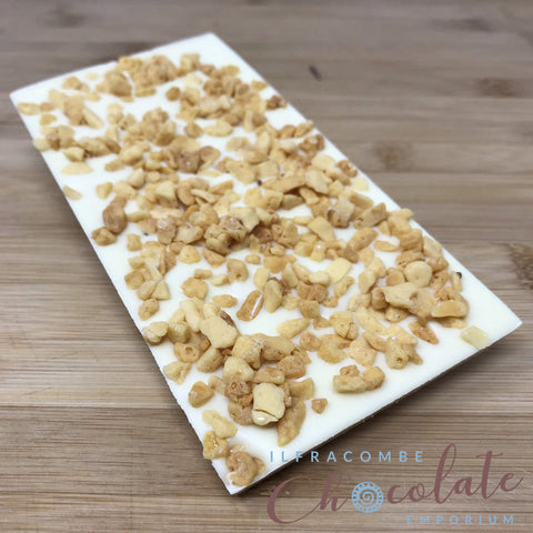 Deluxe White Chocolate Bar with Honeycomb