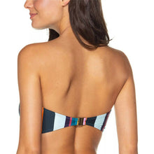 Striped Bikini Sets Strapless Push Up Bra