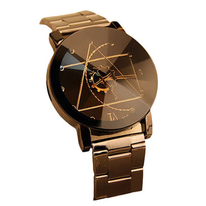Luxury Fashion Stainless Steel for Man Quartz Analog Wrist Watch