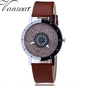 Luxury Casual Candy Leather Quartz Watch