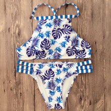 Palm Tree Bikini Set