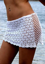 Lace Knitted Beachwear Cover Ups