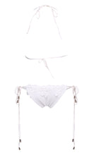 Sexy Brand Lace Up Crochet Bikini Swimwear Knitted Bikini Swimsuit