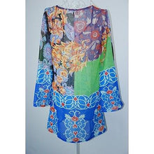 Chiffon Flower Beach Cover Up