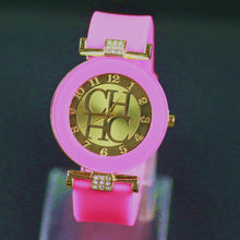 Fashion Brand Gold Geneva sport Watch