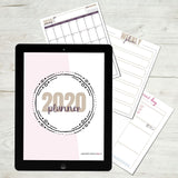 2020 Organized Motherhood Printable Planner