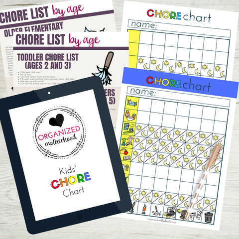 Kids Chore Chart Bundle