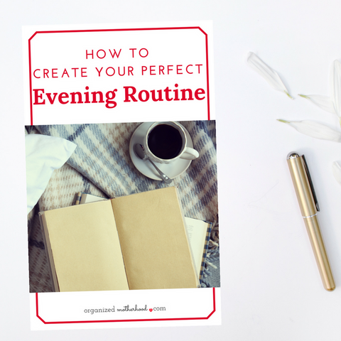 Create Your Perfect Evening Workbook