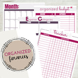Organized Motherhood Home Binder