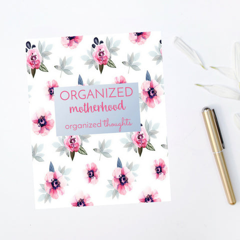 Organized Motherhood Journal