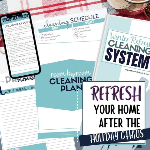 Winter Refresh Home Cleaning System