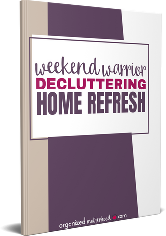 Weekend Warrior Decluttering Home Refresh