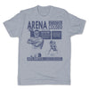 Lucha-Libre-Arena-Coliseo-Grey-Mens-T-Shirt