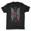 Lucha-Libre-Angel-De-Oro-Urbana-Black-Mens-T-Shirt