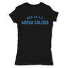 Lucha-Libre-Arena-Coliseo-DF-Black-Womens-T-Shirt
