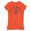 Lucha-Libre-Arena-Mexico-1956-Orange-Womens-T-Shirt