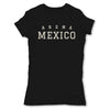 Lucha-Libre-Arena-Mexico-Black-Womens-T-Shirt