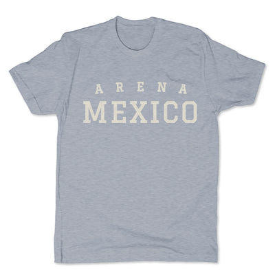 Lucha-Libre-Arena-Mexico-Grey-Mens-T-Shirt