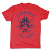 Lucha-Libre-Atlantis-Estrella-Red-Mens-T-Shirt