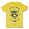 Lucha-Libre-Atlantis-Estrella-Yellow-Mens-T-Shirt