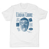 Lucha-Libre-Blue-Panther-Cover-White-Mens-T-Shirt