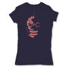 Lucha-Libre-Mephisto-Mask-Purple-Womens-T-Shirt