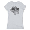 Lucha-Libre-Mucho-Macho-Grey-Womens-T-Shirt