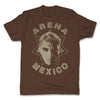 Lucha-Libre-Shocker-Estrella-Brown-Mens-T-Shirt