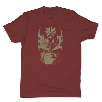 Lucha-Libre-Ultimo-Guerrero-Mask-Red-Mens-T-Shirt