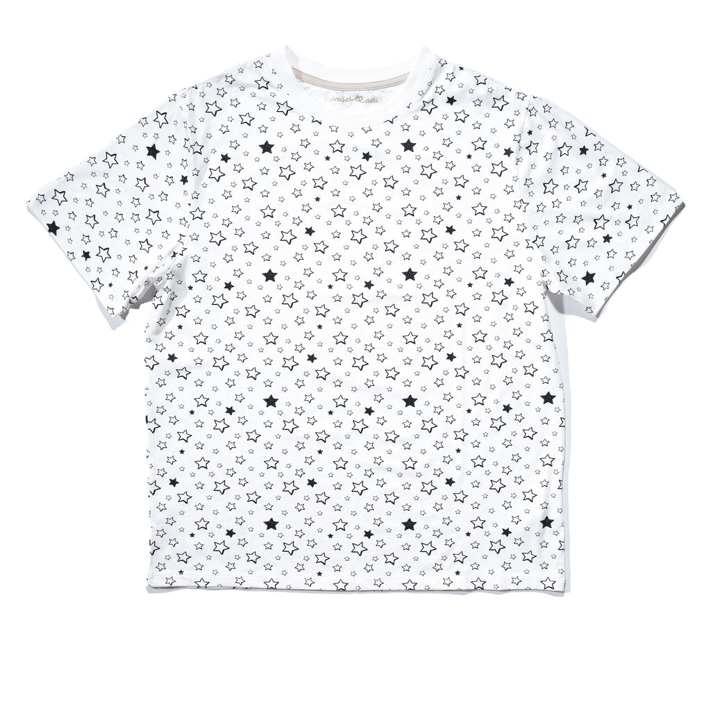 Starry Men's tee front, daddy & me matching tees.