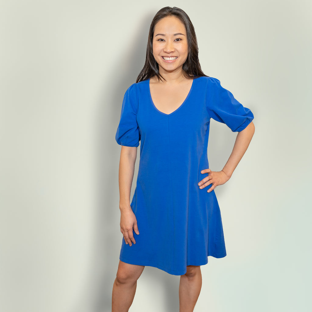 Emma dress | Cobalt