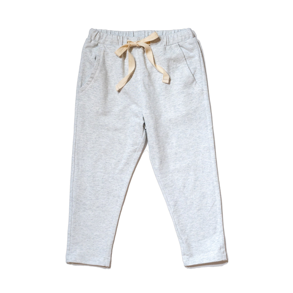 Gender Neutral jogger in stretch cotton terry, soft and stretch, perfect for running around and pair with our gender neutral tee, by Anise & Ava.