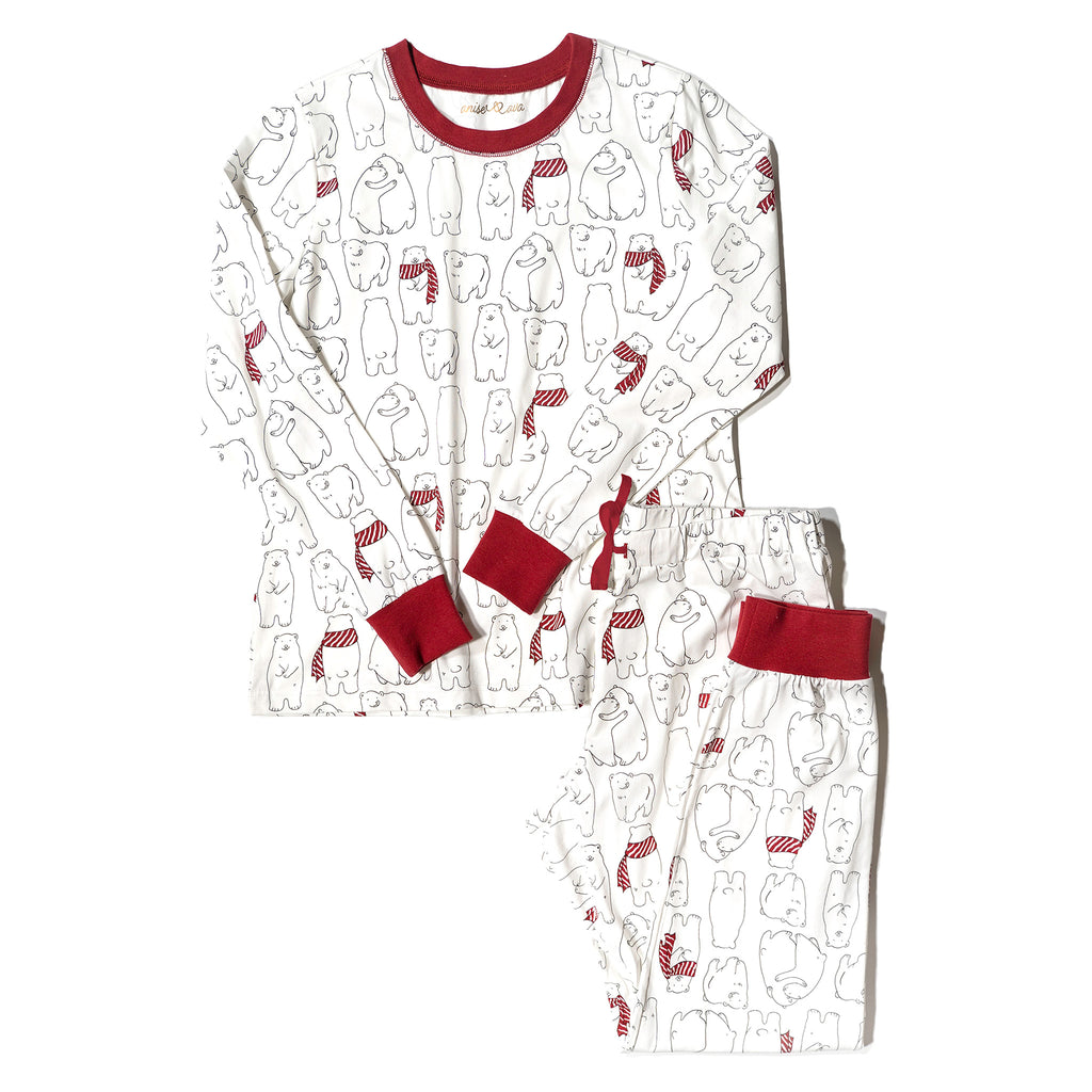 Avery Top| Women's PJ Top| Cozy Bear