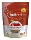 Fruitables Skinny Minis Apple Bacon Chewy Dog Treats 141g - Pet Glorys